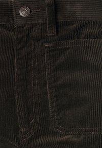 Polo Ralph Lauren - JEN FULL LENGTH FLAT FRONT - Trousers - antique brown - 2