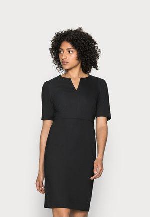 ZELLA DRESS - Shift dress - black