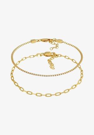 2 PACK BASIC - Armband - gold