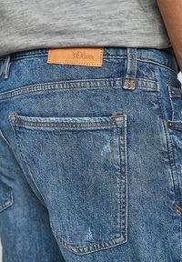 s.Oliver - Jeans Shorts - medium blue - 3