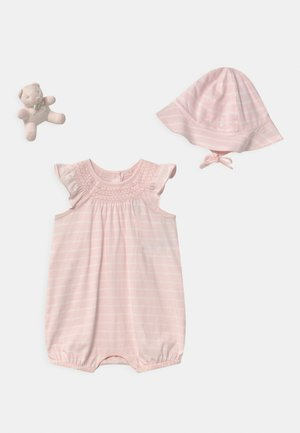 BUBBLE APPAREL ACCESSORIES SET - Bonnet - delicate pink