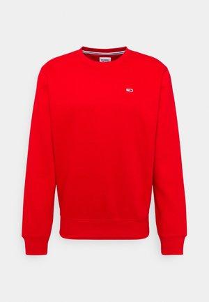 REGULAR C NECK - Sweatshirt - deep crimson