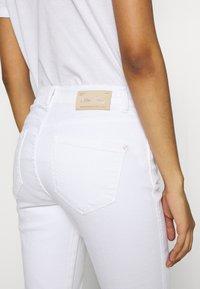 Mos Mosh - ASHLEY JEANS - Slim fit jeans - white - 5