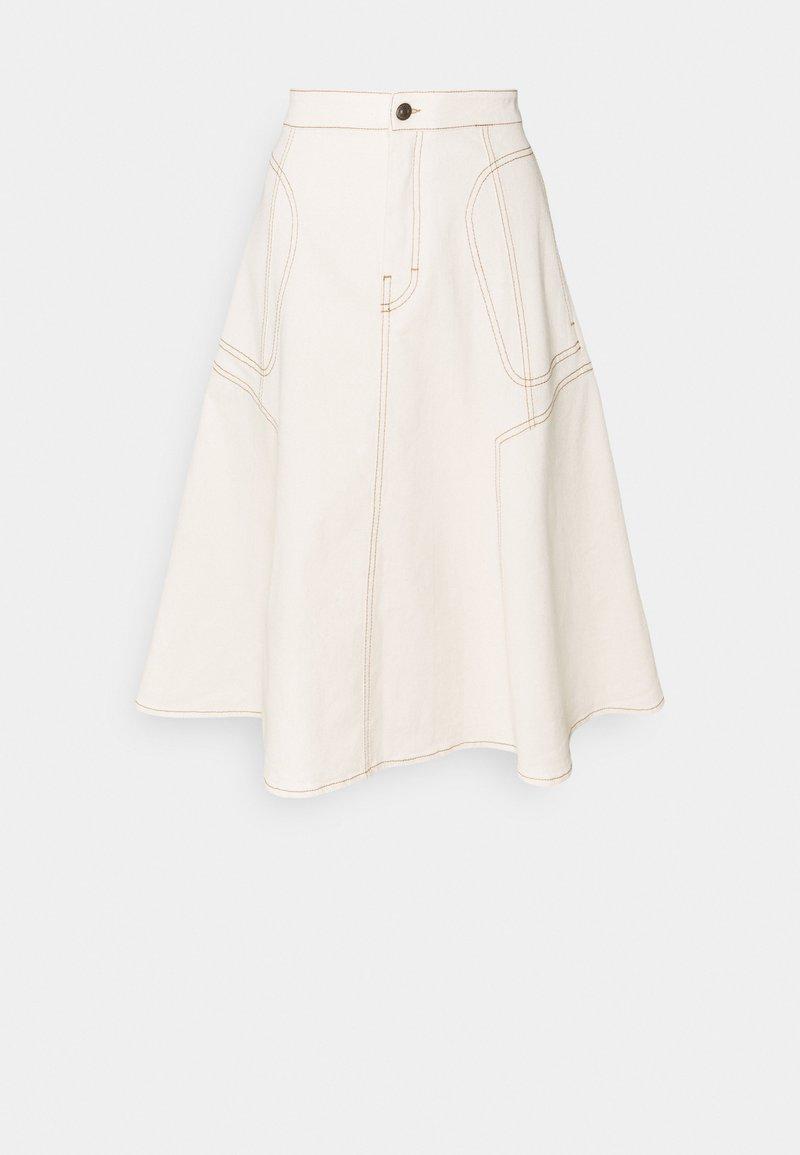 DRYKORN - OCTARIA - A-line skirt - ecru