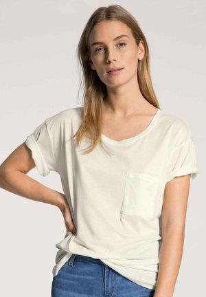 DAMEN KURZARM-SHIRT - Basic T-shirt - star white