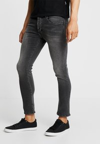 Pier One - Slim fit jeans - moon washed - 0