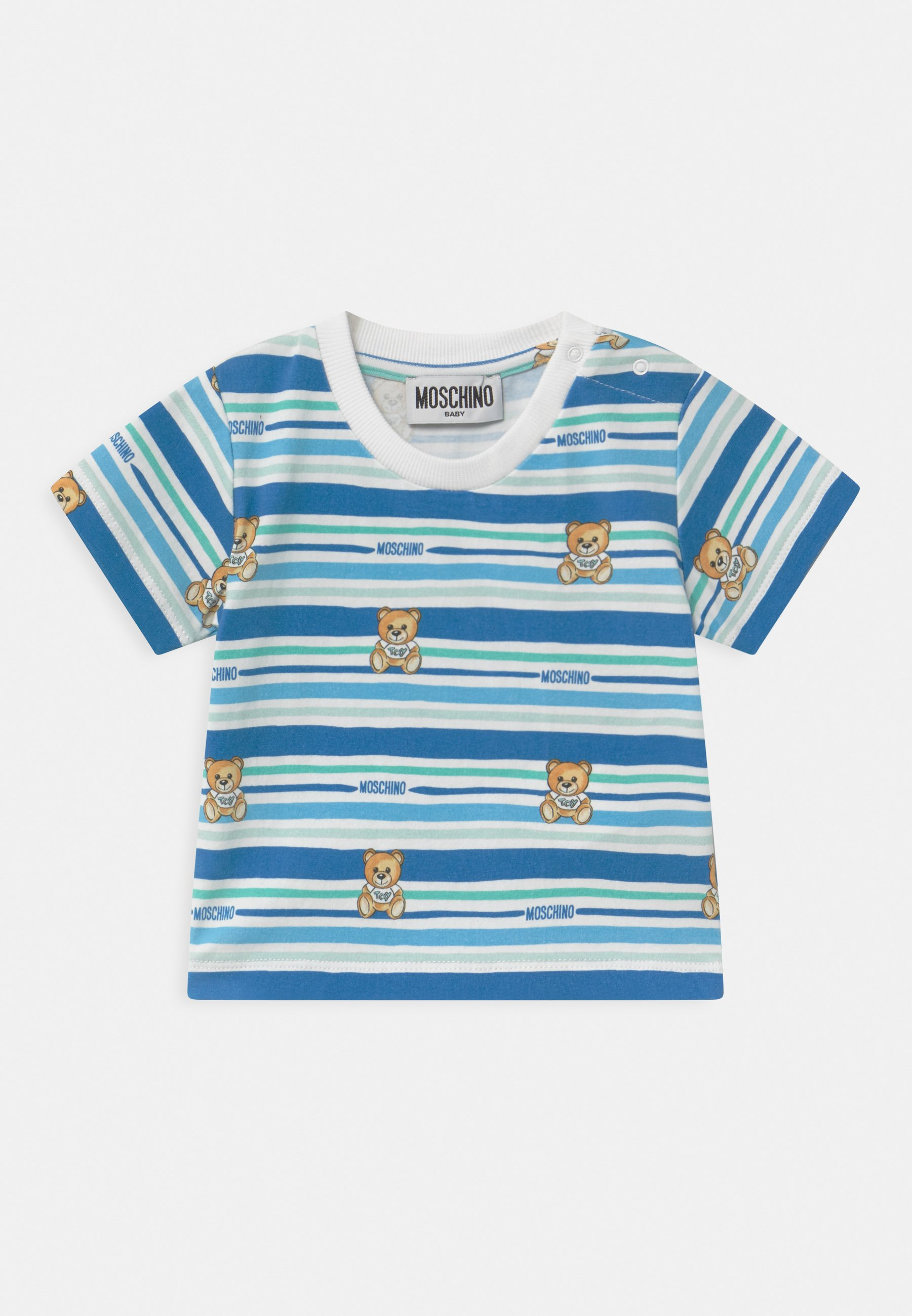 Kids Print T-shirt - blue