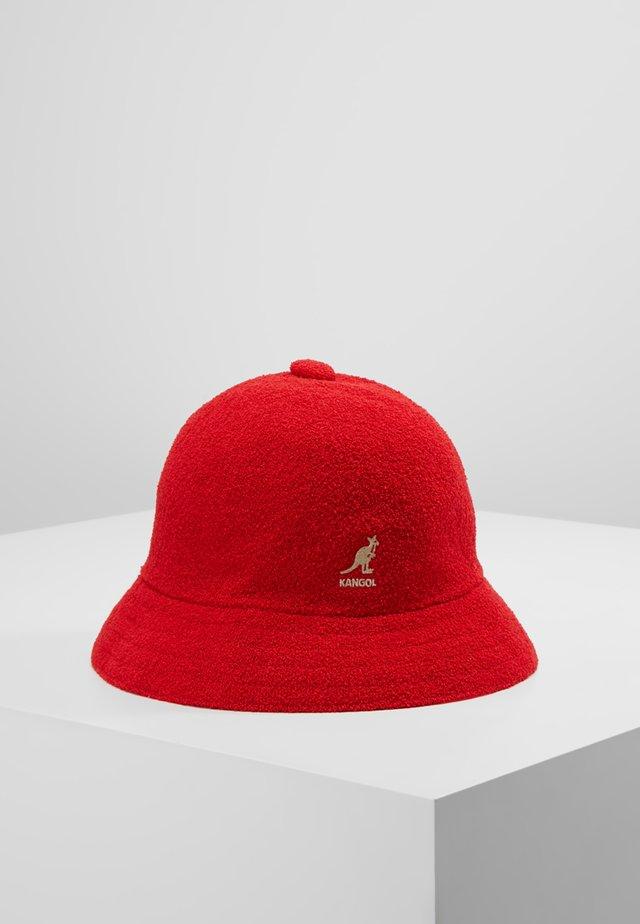 BERMUDA CASUAL - Hat - scarlet