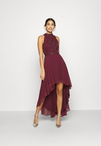 Lace & Beads - AVERY DRESS - Vestido de fiesta - burgundy - 1