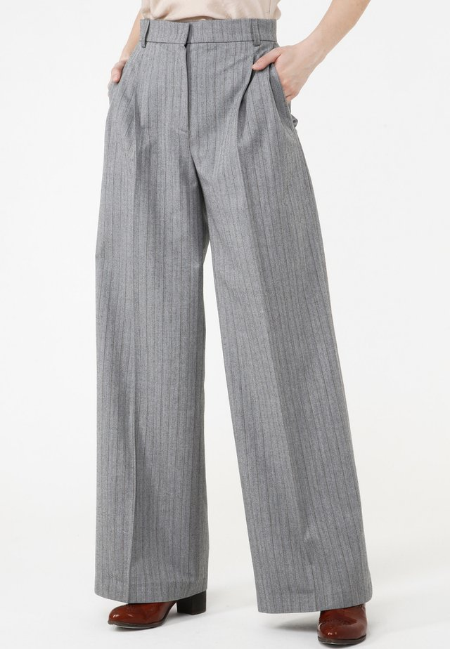 KRUZA - Trousers - grau