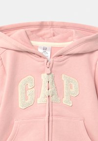 GAP - TODDLER GIRL LOGO  - Zip-up hoodie - icy pink