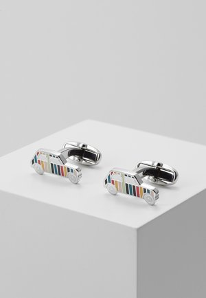 CUFFLINK MINI CAR - Gemelos - silver-coloured