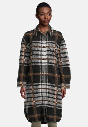 CASUAL - Short coat - schwarz/weiß