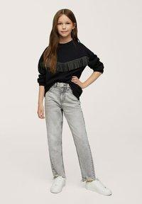 Mango - Sweater - zwart - 0
