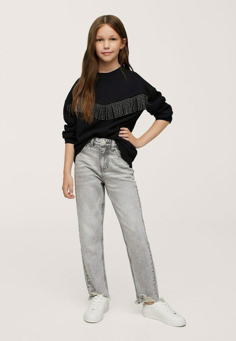 Mango - Sweater - zwart