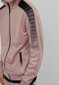 Bershka - Felpa aperta - pink - 3