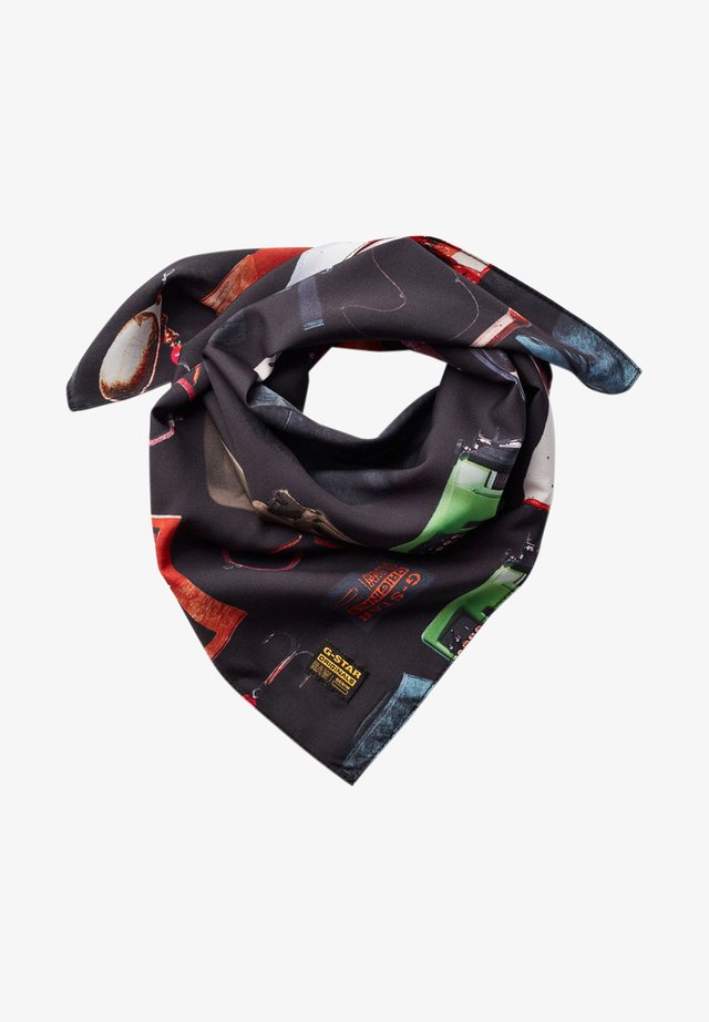 Foulard - dk black objects