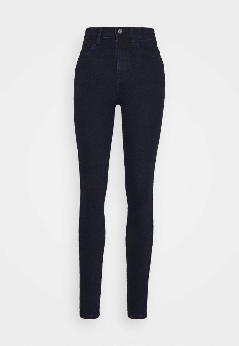 Wrangler - HIGH RISE SKINNY - Jeans Skinny Fit - before dark