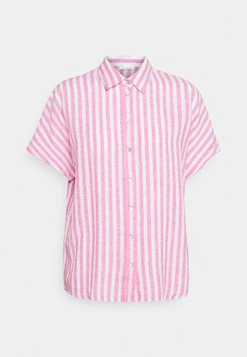 FASHION - Button-down blouse - pink