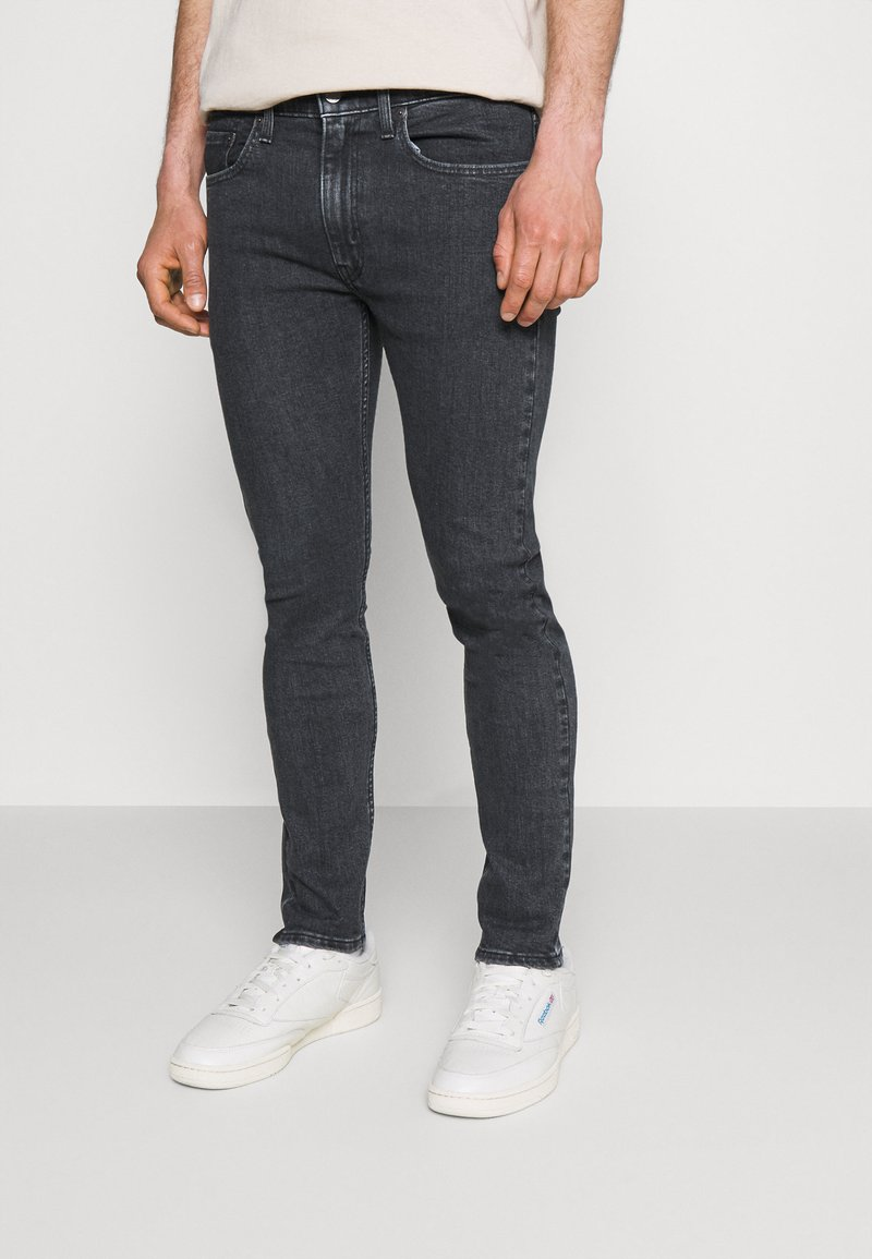Levi's® - 519™ EXT SKINNY HI BALLB - Jeans Skinny Fit - monarda black