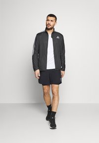adidas Performance - MARATHON - Sports jacket - black/white - 1