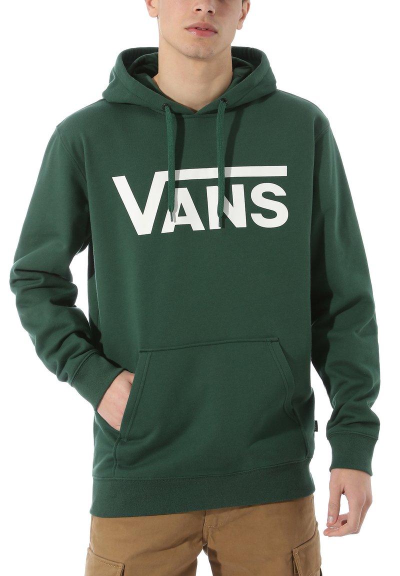 Vans - CLASSIC HOODIE - Bluza z kapturem - pine needle
