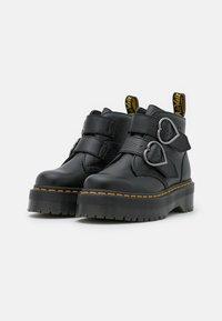 Dr. Martens - DEVON HEART - Platform ankle boots - black aunt sally - 2