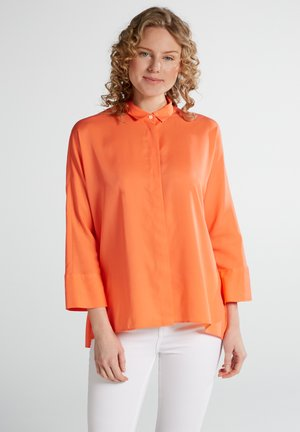 Button-down blouse - coral