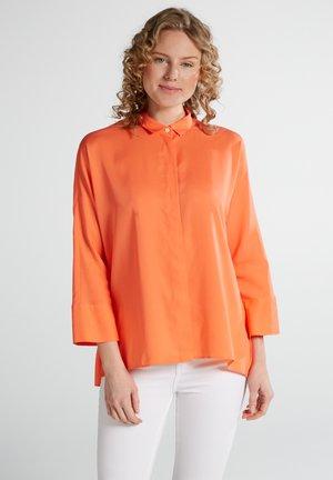 Button-down blouse - coral