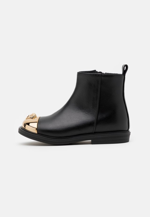 STIVALETTO - Classic ankle boots - black/gold