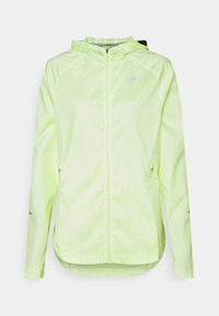 Nike Performance - RUN JACKET - Sports jacket - barely volt/reflective silver - 0