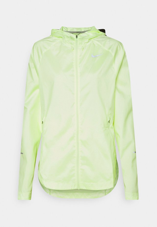 RUN JACKET - Veste de running - barely volt/reflective silver