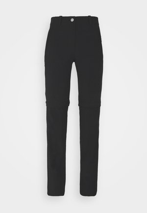 RUNBOLD ZIP OFF PANTS WOMEN - Trousers - black