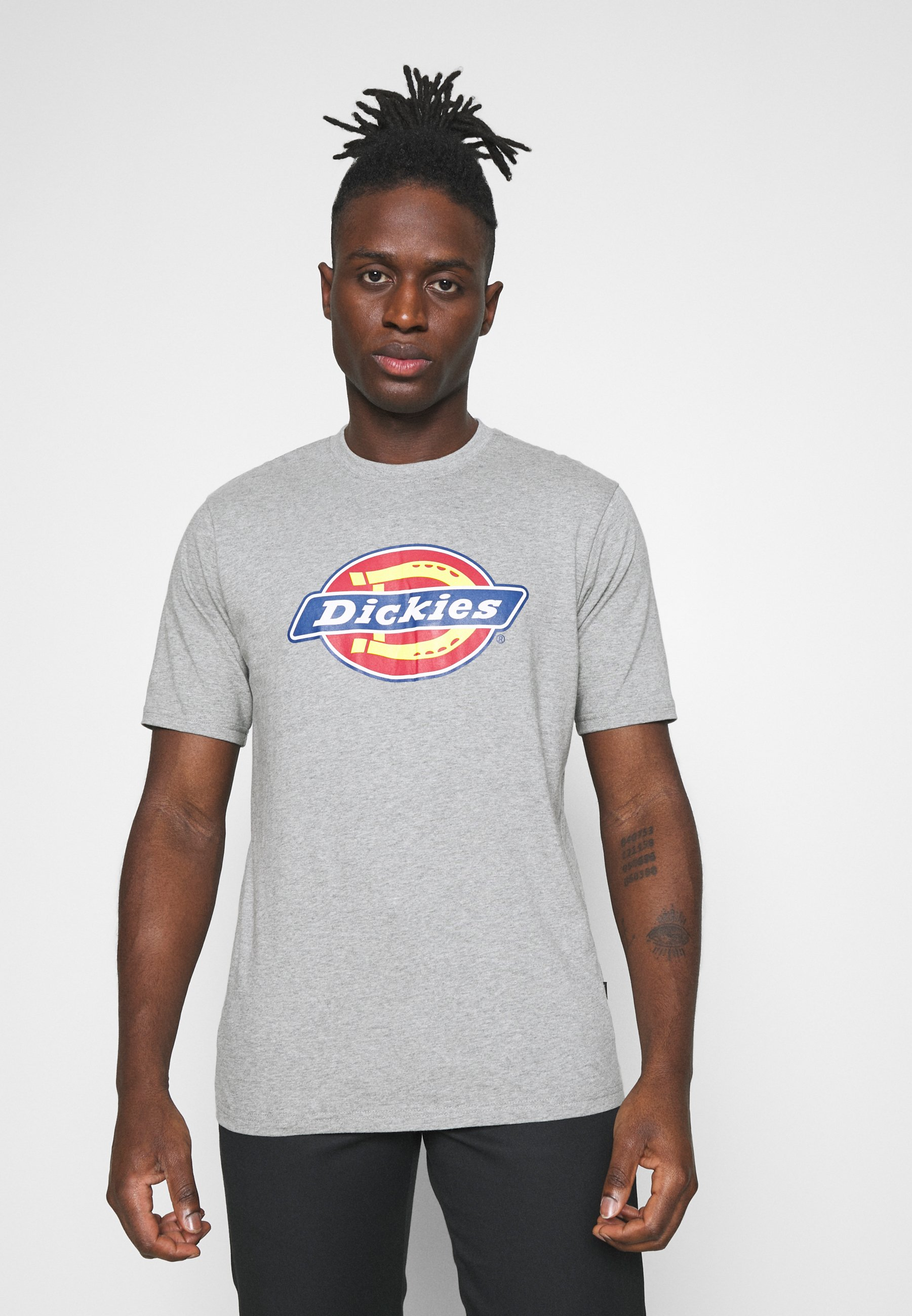 Men ICON LOGO TEE - Print T-shirt