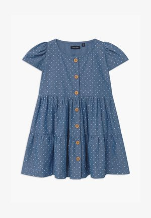 SMALL GIRLS - Denim dress - blue