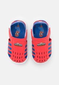 adidas Performance - WATER UNISEX - Pool slides - vivid red/team royal blue/footwear white - 3