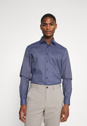 CHECK EASY CARE - Formal shirt - navy