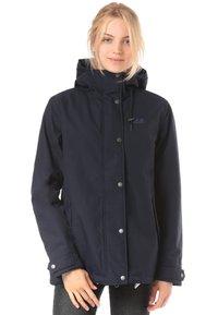 Jack Wolfskin - Waterproof jacket - blue - 0