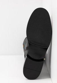 Steffen Schraut - LOCK - Overknee laarzen - black - 5