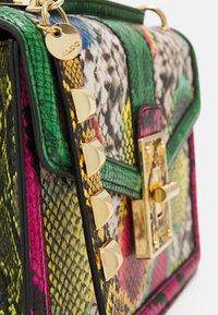 ALDO - CEREJEIRA - Across body bag - bright multi/gold-coloured - 3