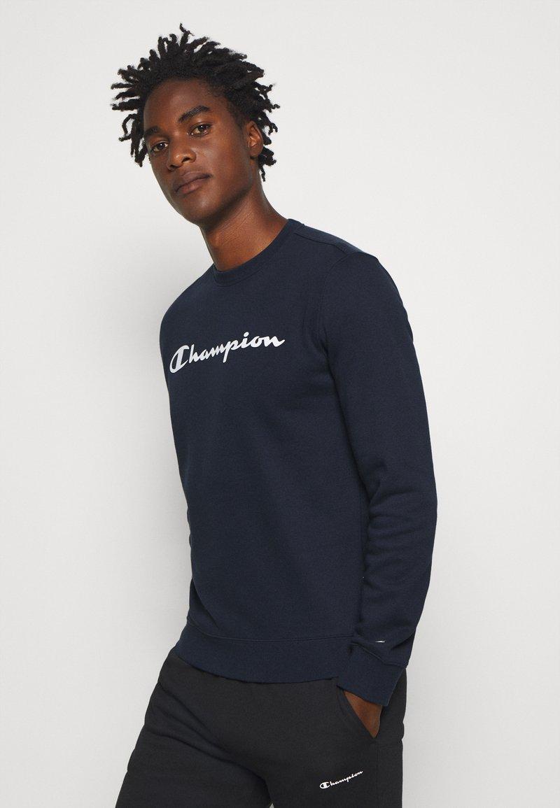Champion - CREWNECK  - Collegepaita - dark blue