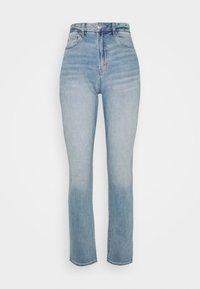 CURVY MOM - Slim fit jeans - destroyed denim