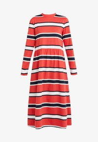Libertine-Libertine - ZINK - Jersey dress - red stripe - 3