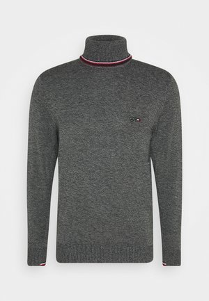 WARM ROLL NECK - Jumper - grey