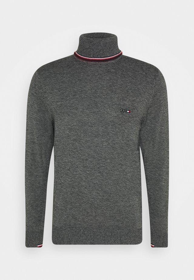 WARM ROLL NECK - Sweter - grey