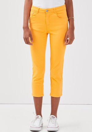 SCHLANKE EINFARBIGE BASIC-HOSE - Trousers - orange clair