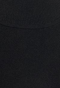 Diane von Furstenberg - FLUTTER TURTLENECK - Neule - black - 6