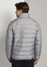 TOM TAILOR DENIM - LIGHTWEIGHT JACKET - Light jacket - dark grey printed melange - 2