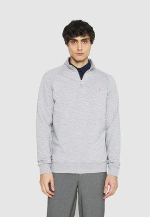 JIM ZIP - Sweatshirt - light grey marl