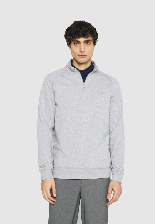 JIM ZIP - Collegepaita - light grey marl